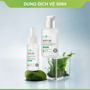 COMBO DUNG DỊCH VỆ SINH HAPPY GEL & HAPPY LOVE 1