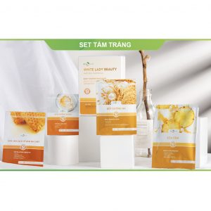 COMBO SET TẮM TRẮNG - WHITE LADY BEAUTY NATURAL 1